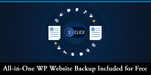 All-in-One WP Website Backup Included for Free