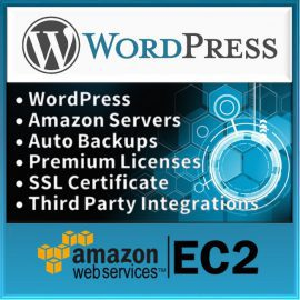 Product-WordPress-Website-on-Amazon-Server-Logo